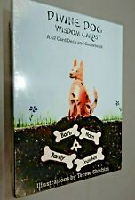 DIVINE DOG Wisdom Cards Deck 62 cards & guidebook SEALED new