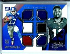 2014 Absolute Tools of The Trade Odell Beckham Jr.6 Patch Rookie 05/15 NY Giants