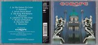 EUROPE - EUROPE CD 1992 JAPAN ESCA 5623 EPIC OBI ROCK METAL
