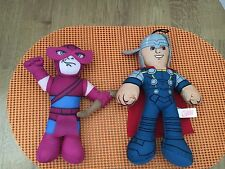 "Marvel Avengers Mighty Thor And Hawkeye 9"" Stuffed Plush"