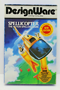 Spellicopter by DesignWare (IBM, PC or PCjr Edition 1983)