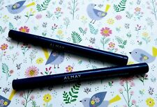 2x NEW! Lot ALMAY Pen Eyeliner All Day Wear, Hypoallergenic, Navy Marine