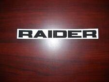 Vintage Raider Twin Track Decal NOS OEM 1707-R-3009