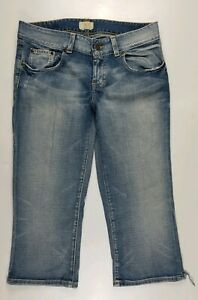 BKE Capri Distressed Womens Jeans Sz 32