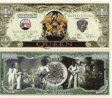 Queen- A Classic Rock Band Million Dollar Bill