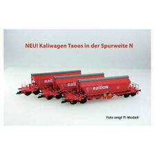 Kühn / Kuehn Kaliwagen-Set Taoos 894 Railion Spur N Art. 93034 - NEU