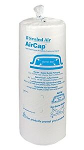 3 ROLLS SEALED AIR AIRCAP SMALL BUBBLE WRAP 500 mm X 100 m - FREE 24h DELIVERY