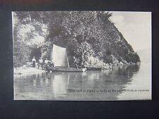 73    SAVOIE  -  AIX  LES  BAINS  Lac du Bourget  et  Grotte Lamartine