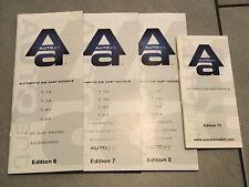 1:18 1:24 1:43 1:64 AUTOart lotto 4 Cataloghi Brochure Automodelli lim. Edition