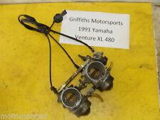 91 92 93 YAMAHA Venture XL VT480XL 88T OEM mikuni carb carbs set carburetors