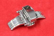 B-3722 18mm Lock Silver Stainless Steel Leather Strap Buckle replacement New