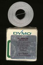 3x DYMO 12,7mm x 6,4M PRÄGEBAND Steel EDELSTAHL prägelabel label