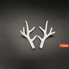 1 Pair Photography Props Deer Antlers DIY Headband Deer Horn Simulation