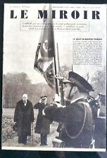 LE MIROIR 12/1939; Winston Churchill en visite chez l'amiral de la flotte Darlan
