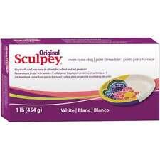 Sculpey Original Polymer Clay 1lb White 715891111628
