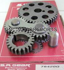 Engine Timing Set S.A. GEAR 78420Q SB Ford 302 351W Gear Drive Quiet