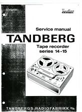 Tandberg Service Manual  für 14-15 series  Copy