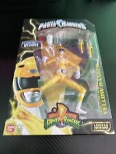 Yellow Power Rangers Metallic Legacy Collection Gamestop Exclusive Weapons NIB