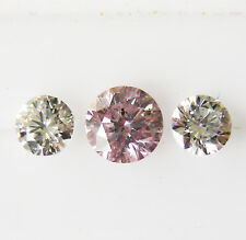 0.59ct! PINK AUSTRALIAN DIAMOND 100% UNTREATED +CERTIFICATE INCLUDED