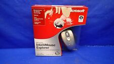 MICROSOFT IntelliMouse EXPLORER NEW IN BOX NIB w/TILT WHEEL, USB, PS2