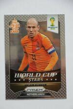 Carte Panini Prizm Coupe du monde 2014 Stars Arjen Robben # 20 Pays-Bas