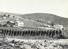 1861-Company A, 22d New York State Militia near Harpers Ferry, Virginia
