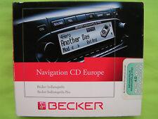CD NAVIGATION BECKER INDIANAPOLIS PRO 4.0 EUROPA VW MERCEDES AUDI BMW PORSCHE GM