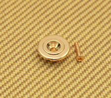 BSG-ER-G Gold Economy Round Bass Guitar String Guide w/mounting screws