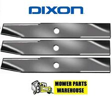 "3 DIXON MOWER BLADES 50"" CUT 9443 13949 539119864 539129748"