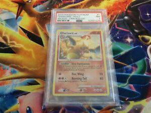 2009 Pokemon Card Platinum Charizard Holo Arceus Cracked Ice 1/99 PSA 7 NR MINT