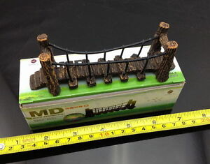 QL005 Model Train Railway Layout Suspension bridge drawbridge 1:150 N Scale