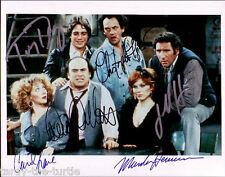 Taxi Cast  8 x 10 Autograph Reprint  Hirsch   DeVito  Henner  Danza  Kane  Lloyd