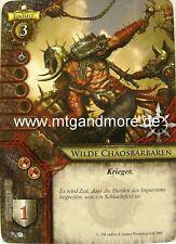 Warhammer Invasion - 2x Wilde Chaosbarbaren  #082
