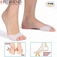 PEDIMEND Toe Sleeve Metatarsal Pads - Bunion & Forefoot Cushioning - Foot Care