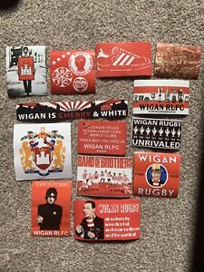 Wigan Warriors Rugby Stickers