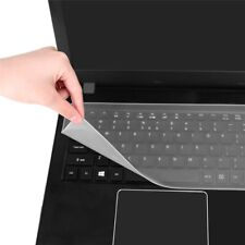"Clear Waterproof Silicone Keyboard Cover Protector Skin for 15""-17"" Laptop PC"