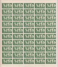 INDIA 1971 INDIAN CRICKET VICTORIES MNH COMPLETE SHEET OF 50 STAMPS RARE.