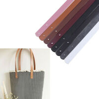 2Pc/Set PU Leather Tote Bag Strap Replacement for Handbag Detachable Handle YAN