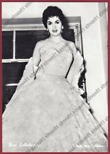GINA LOLLOBRIGIDA 39b ATTRICE ACTRESS CINEMA MOVIE STAR PEOPLE Cartolina FOTOGR.