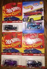 2001 2006 Hot Wheels Anglia Panel Truck ISCA Special Edition Classics Lot