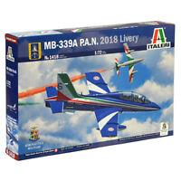 ITALERI MB.339A P.A.N 2018 Livery A.M.I 1418 1:72 Aircraft Model Kit