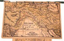 Vintage Sunday School Biblical Historical Maps A H Eilers The Peerless Series
