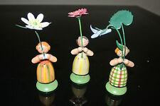 * 3 alte Blumenkinder , Blumenmädchen * (263)
