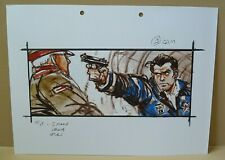 James Bond 007: The World is Not Enough - Production Used Color Storyboard