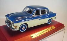 Atlas DDR 1/43 Sachsenring P240 beige/blau in Plexi-Box #2113