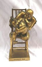MAGNIFICENT 1900 FRENCH DORE BRONZE STATUE SIGNED JUAN CLARA, & FOUNDRY