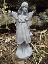 """latex delicate garden fairy with flower mold  5.75""""H x 2""""W"""