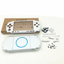 EC White Replacement Housing Shell Case Faceplate Button for PSP 3000 PSP3000