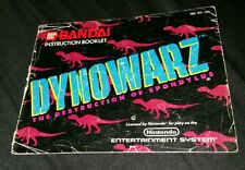 Dynowarz Instruction Booklet Only Nintendo NES Book Only