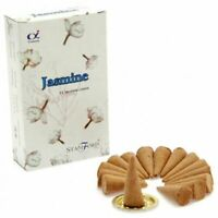 JASMINE STAMFORD Incense 15 Cones Flower Scent Candles Fragrance Sweet Smell UK